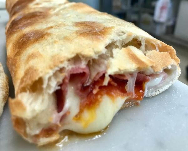 what is peperoni made of peperoni Stromboli